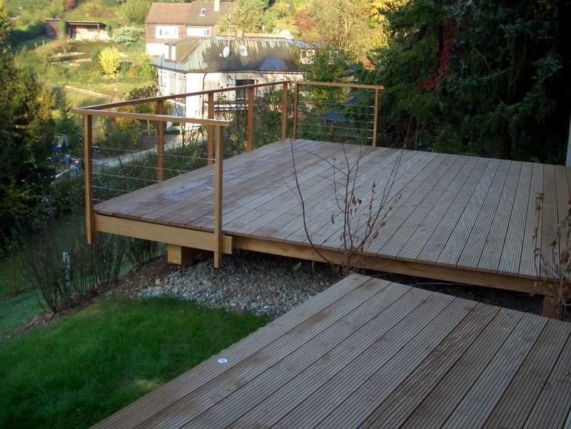 Terrassen – Holzbau Breckel