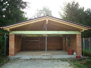 carport garage holzbau breckel. Black Bedroom Furniture Sets. Home Design Ideas