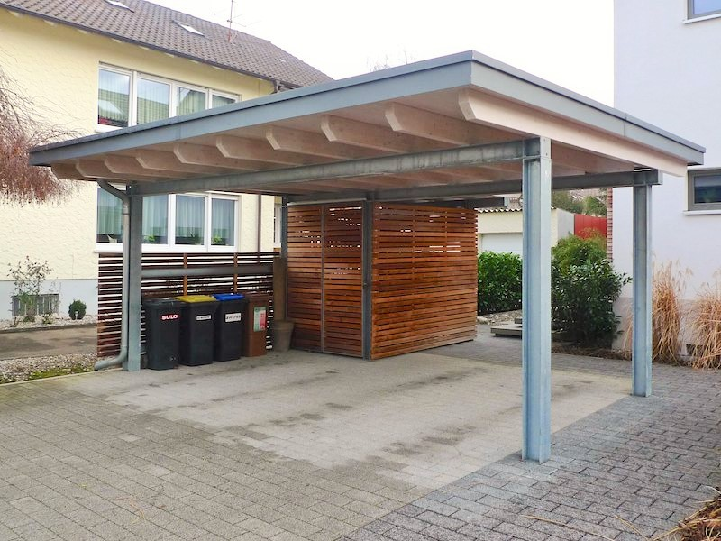 carport garage holzbau breckel. Black Bedroom Furniture Sets. Home Design Ideas